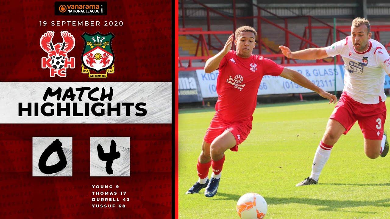 Pre-Season Highlights: Harriers 0-4 Wrexham 19/09/20