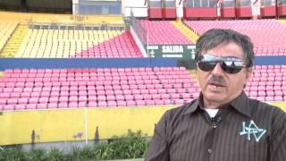 Remodelación Estadio Olímpico Atahualpa LA TV ECUADOR 23/02/14