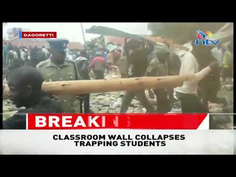 Frenzy as residents try to rescue Precious Talent School students