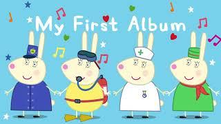 Peppa Pig Songs 🎵 Busy Miss Rabbit 🔴  Peppa Pig My First Album | English Kids Songs