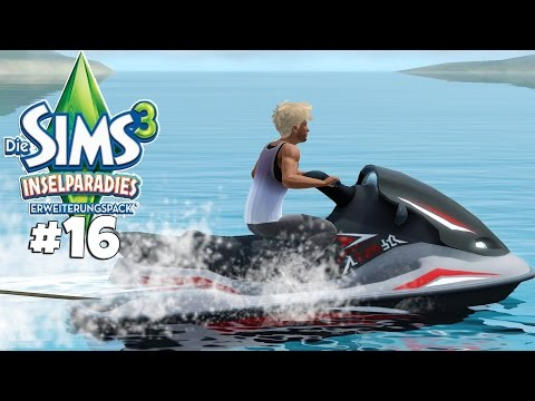 JET SKI SPAß! - Let's Play Die Sims 3 Inselparadies Part 16