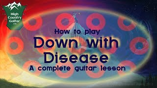 "How to play ""Down With Disease"" by Phish"