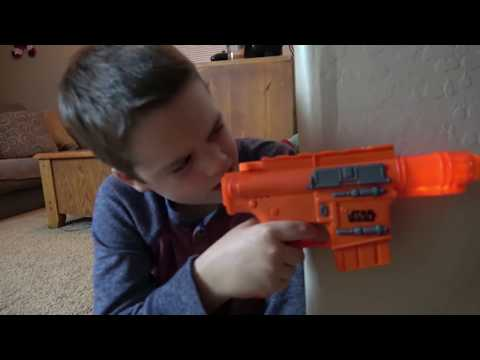 Nerf Gun War! Ethan Vs. Cole! Extreme Toys TV Battle. Round One
