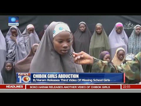 News@10: Parents Identify Daughter In New Boko Haram Video 14/08/16 Pt. 1