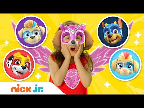 Mighty Twins Reveal! & Play Junior Dress Up 🐶 PAW Patrol I Nick Jr