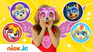 Mighty Twins Reveal! & Play Junior Dress Up 🐶 PAW Patrol! Ep. 7 | Nick Jr.