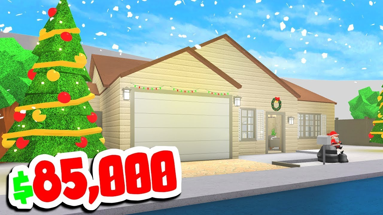 new houses in roblox bloxburg christmas update