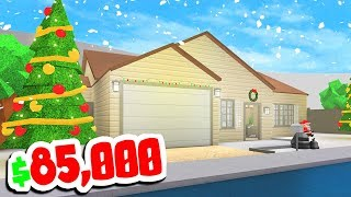 NEW HOUSES IN ROBLOX BLOXBURG CHRISTMAS UPDATE!!