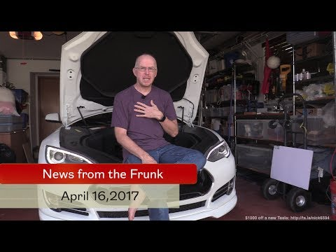 Model 3 and the stock price - It's News From the Frunk Episode 70!