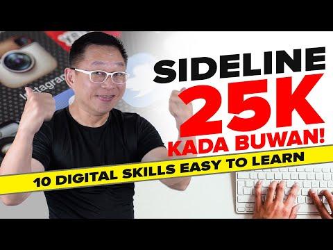 10 Digital Skills pang Extra Income (Kikita ka ng 25k-100k per Month)