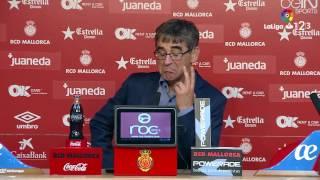 Rueda de prensa de Fernando Vázquez RCD Mallorca vs SD Huesca (3-0)