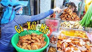 Có gì trong Quán cơm gà Chiên Mỡ hút khách đông nghẹt lúc 2 giờ chiều ở Sài Gòn