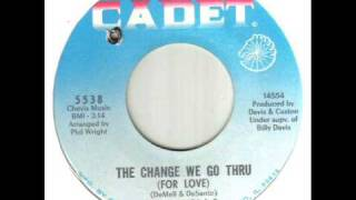 Dells The Change We Go Thru For Love