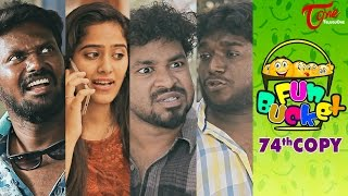 Fun Bucket | 74th Copy | Funny s | by Harsha Annavarapu | #TeluguComedyWebSeries