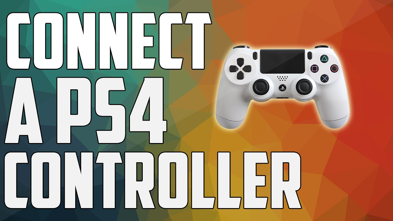 How to Use the PS4 Controller on your Mac or PC