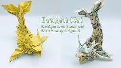 Dragon Koi - Money Origami