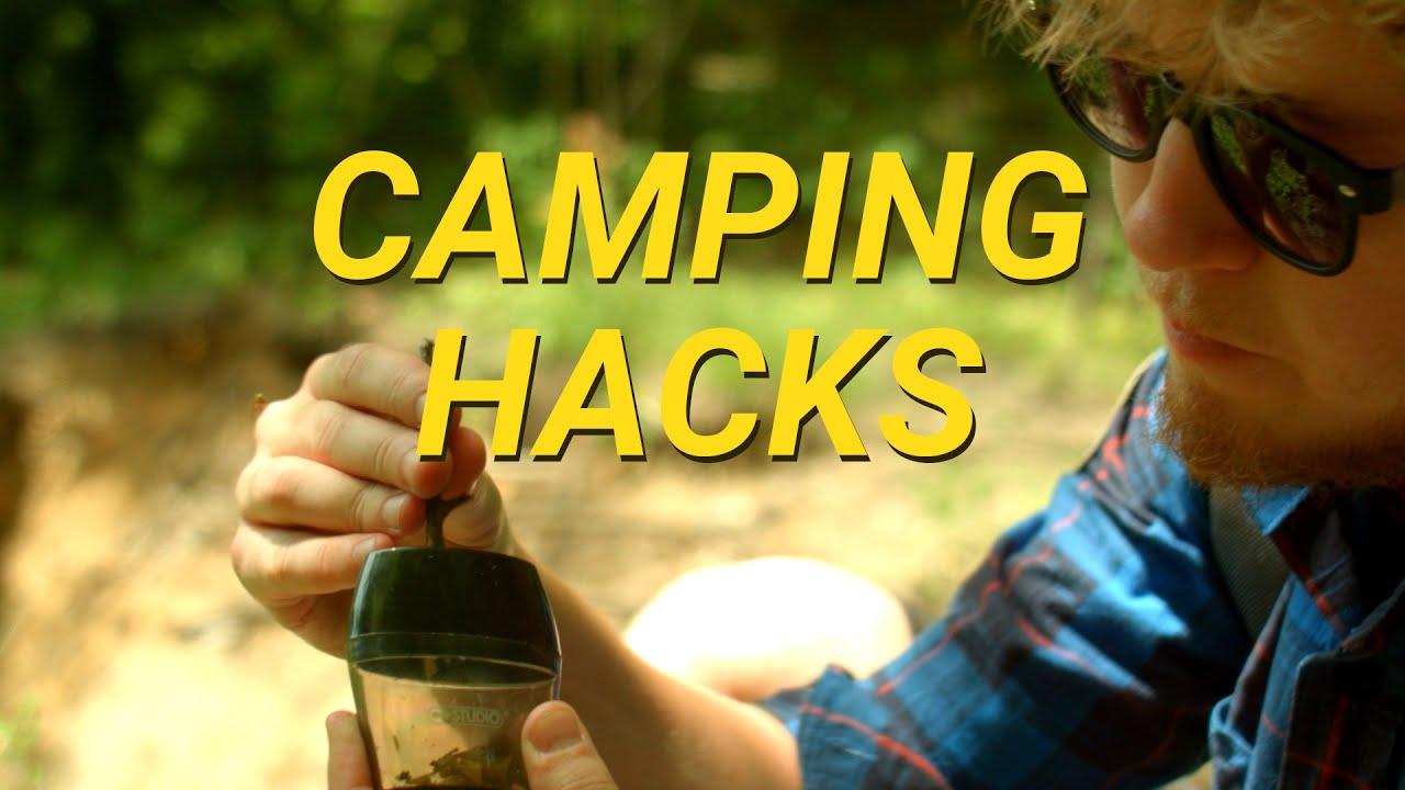 Camping Hacks! - YouTube