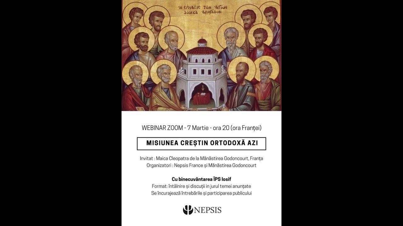 Misiunea creștin ortodoxă azi