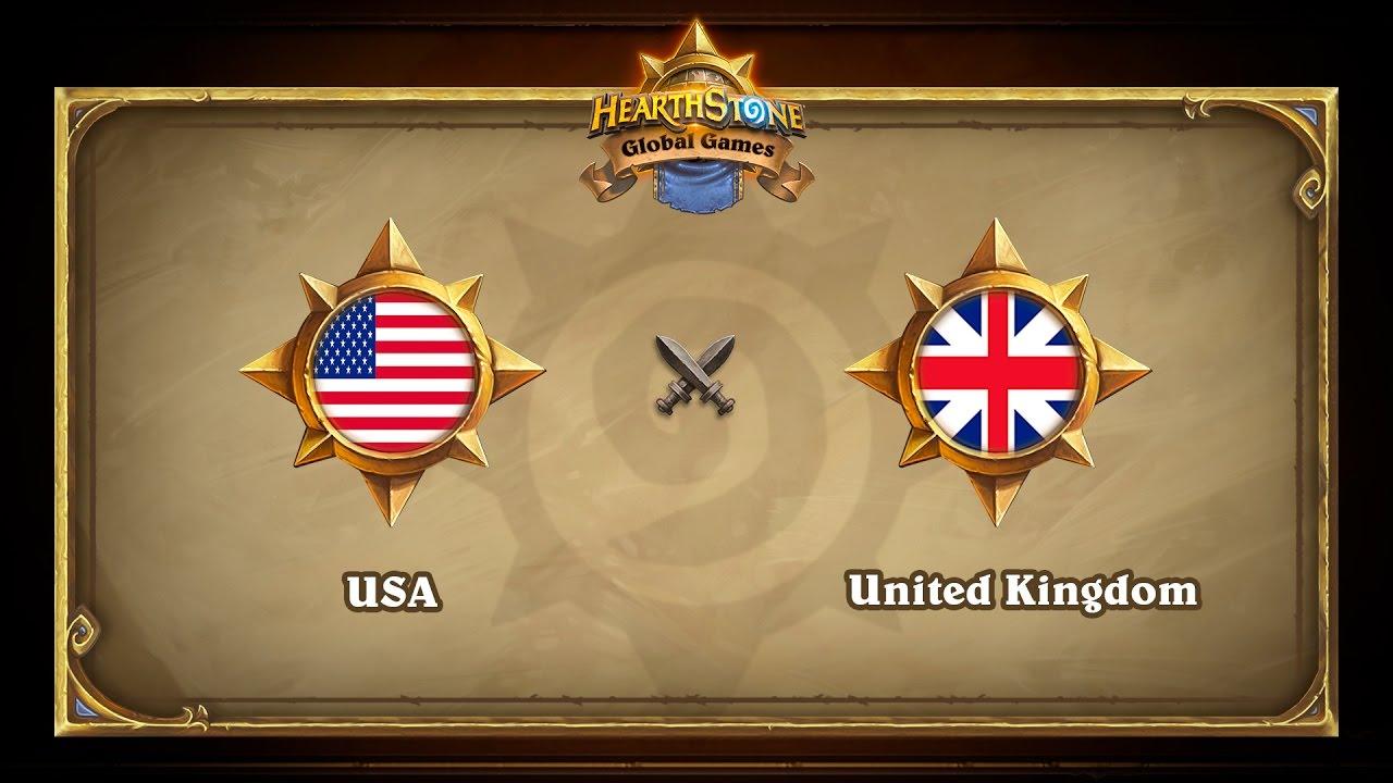 USA vs UK, Hearthstone Global Games Group Stage