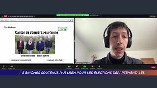 Yvelines | 5 binômes soutenus par LREM pour les élections départementales