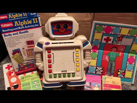 80's TOY of the Day:  Alphie II by PlaySkool 1980's 80sThen80sNow