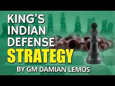 King's Indian Defense Strategy 🏋  by GM Damian Lemos