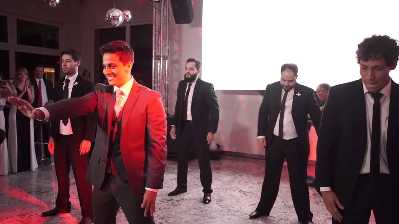 Noivo dança Anitta no casamento!  A melhor Dança de casamento - Pedro e Marcela