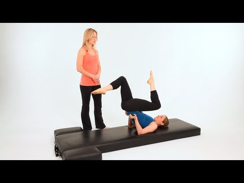 How to Do the High Bicycle   Pilates Workout