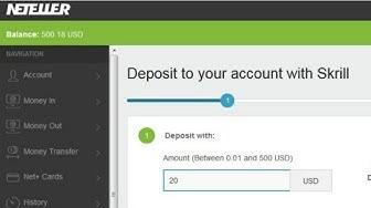 How to create Neteller account & How to deposit - Urdu/Hindi - 2019 Full Tutorial
