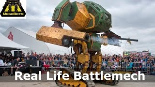Megabots - Real Life, Full Scale Fighting Mechs