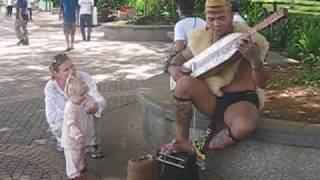 Baby Dancing To Orang Ulu Music In Kuching, Borneo