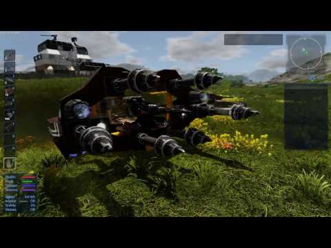 Tutorial: Hover Vessel - Drill Module and Turret