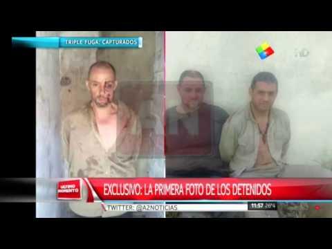 Exclusivo: La foto de la detención de los dos prófugos