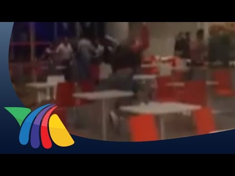 Batalla campal en centro comercial de Jalisco | Noticias de Jalisco