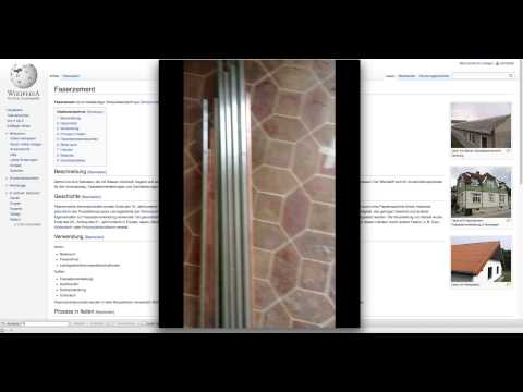 Asbest In PVC / Vinyl / Linoleum Bodenbelag (Cushion Vinyl - Als Boden In Alten Küchen Verlegt)