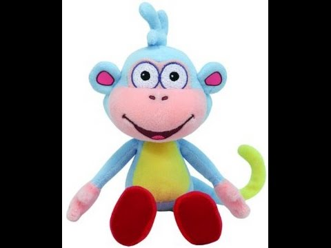 Ty Beanie Baby Boots Dora s Monkey Figure Toy For Kids - YouTube 35baca2b56d