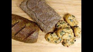 low carb Brot und Sonntagsbrötchen - 3 Rezepte ohne Getreide, glutenfrei, nur 3-4 g Kohlenhydrate