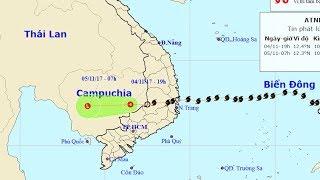 Tin Bão Mới Nhất Hôm Nay : Tin về cơn bão số 12 (bão Damrey)