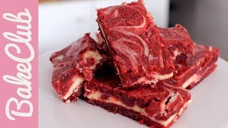 Red Velvet Cheesecake Brownies | Bakemyday