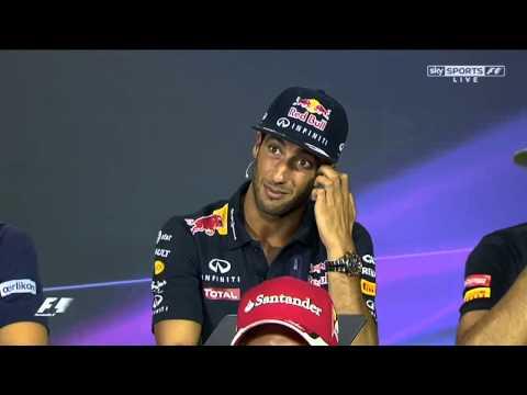 GP de Italia Formula 1 2015  Drivers Press Conference