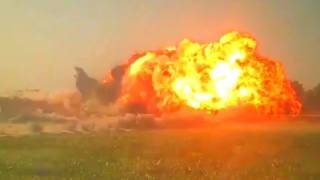 DANGER CLOSE MINE CLEARING EXPLOSION IN AFGHANISTAN
