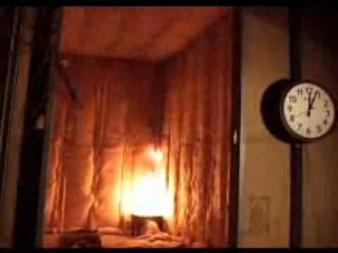 Nfpa 286 Fire Test For Insulation Youtube