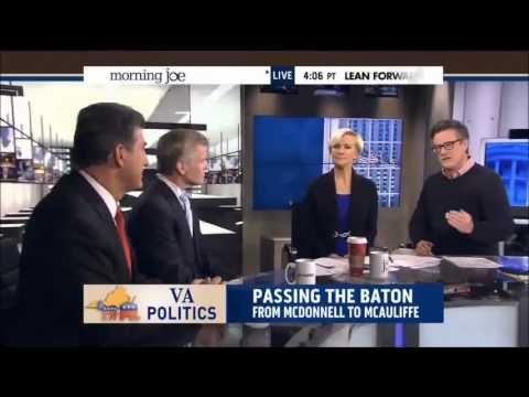 Virginia Gov. Bob McDonnell on MSNBC's Morning Joe