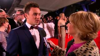 Tom Daley moving to america to be with new fella? Red Carpet National Television Awards 2014