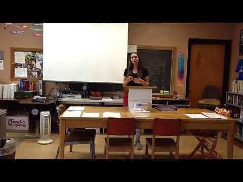 Chloe's Impromptu Speech - 6th Hour - 2018-2019