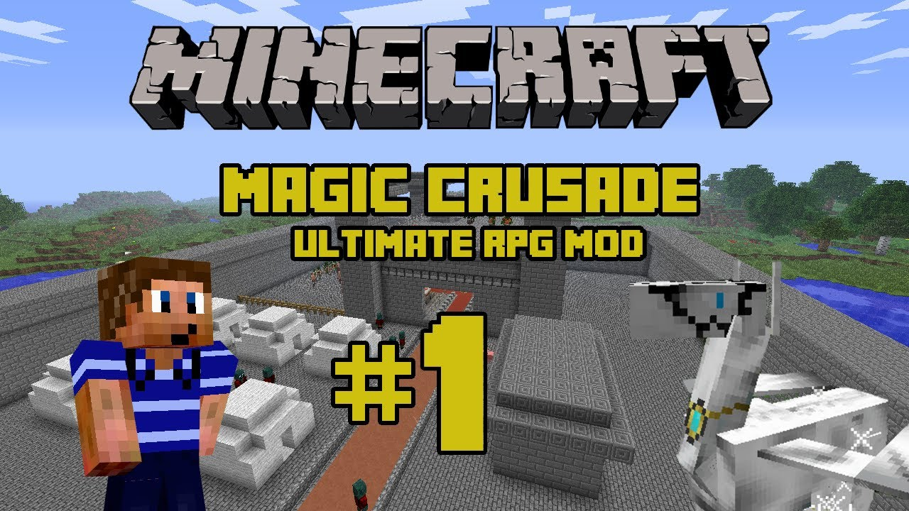 Minecraft PE- Magic crusade PE official trailer(RPG/PC ...
