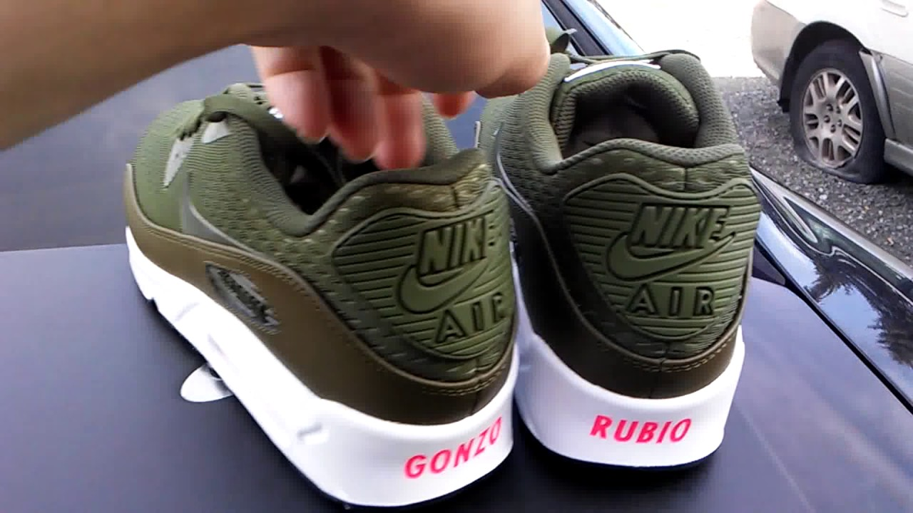 reputable site 3f20f fcf3b Nike ID Airmax 90 olive green for Airmax day 2017