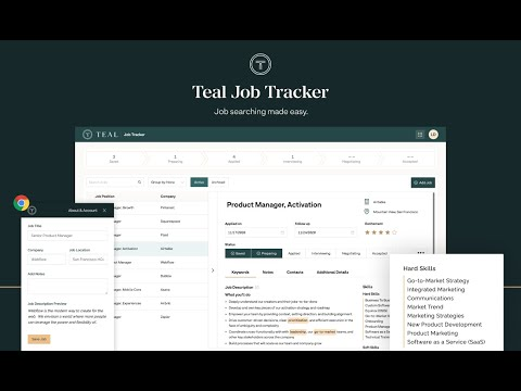 Job Tracker by Teal #0
