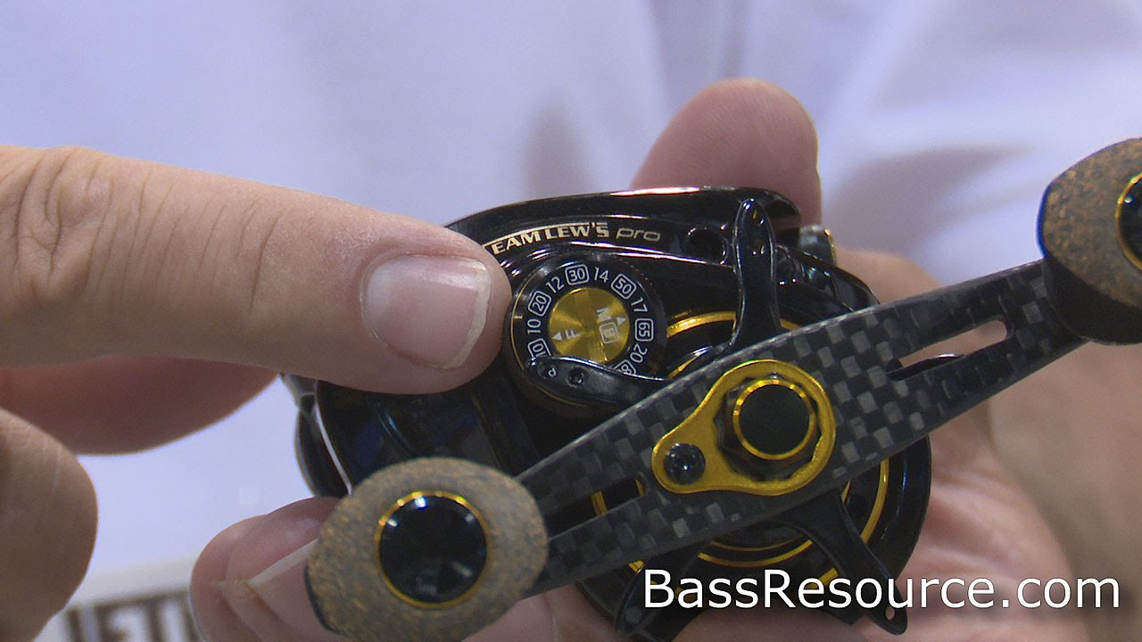 team lews pro fishing reel | bass fishing - youtube, Fishing Reels