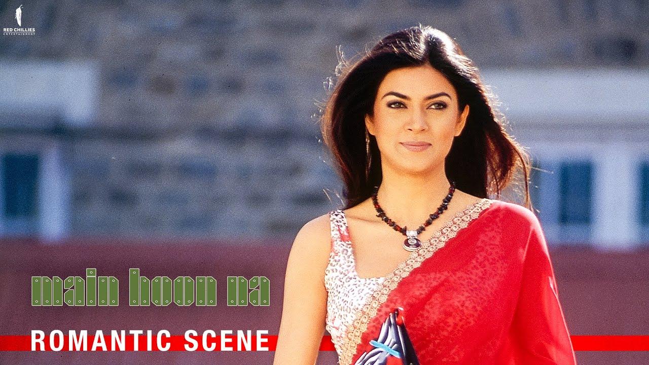 Download Miss Chandni Ki Ada | Main Hoon Na | Romantic Scene | Shah Rukh Khan, Sushmita Sen, Amrita Rao